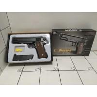 Игрушечный пистолет металл в коробке С1911
