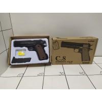 Игрушечный пистолет металл в коробке С8
