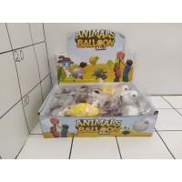 Животные резиновые надувные