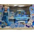 Кухня голуб с куклой ХС, кор (Холодное сердце) 0507
