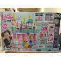 Замок для куклы в шаре, кор 5627 Lol 75см/50см