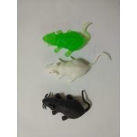 Животные резиновые в ассортм, пак (Мышки мал.)