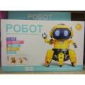Робот чувств, шагает, кор (интерактивный робот-конструктор) HG-715