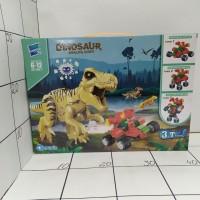 Конструктор динозавр, кор., муз. 050-1 DINOSAUR