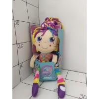 Игрушка мягкая кукла (Вывернушка) кор.40см