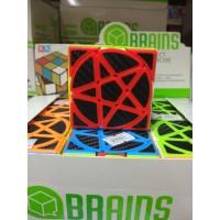 Логическая головоломка, кор, 8980 (кубик Рубика звезда,цв) 89801