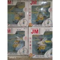 Игрушка-летающая Герой желтый , USB, кор JM388