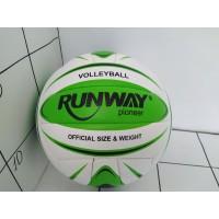 Мяч волейбольный Volleyball RUNWAY4 . Carbonium Soft Foamitex PU 18 панелей  2017-33