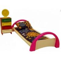 Мебель Кровать с тумбочкой (Форма)
