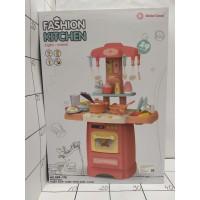 Кухня игровая 29 предметов,свет,звук, размер кухни 62х45х21,5см