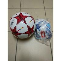 Мяч футбол, цвета в ассортим., пак