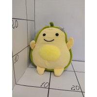 Игрушка мягкая Авокадо с желтым животиком, велюр 25см
