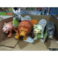 Набор диких животных, пвх, озвуч, пак 2006A