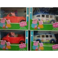 Семья свинок в траснпорте (авт, маш, кор) 8851-0521-32 (Свинка Пепа)