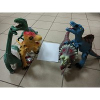 Динозавр резин, озвуч, бол, пак 020-18