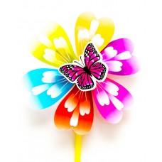 Ветерок Цветок ассорти 22 см, микс