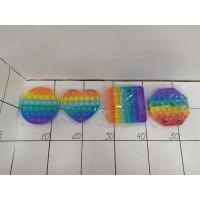 Антистрес пузырики POP разноцветные, пак