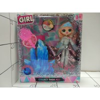 Кукла-малышка Модница Girl, свет, кор LK1039.Lol