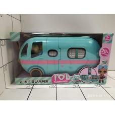 Дом с аксессуарами для куклы-малышки Lol, кор S001 (Автобус) BS001