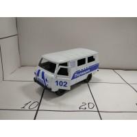 Машина пласт ассортим, кор 802 Полиция