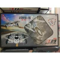Игрушка летающая на РУ с аккумул, кор (Квадрокоптер с камерой) АКБ, USB, камера, 2в1 Х25