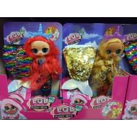 Кукла -малышка Русалка с сумочкой, кор 22805А Lol