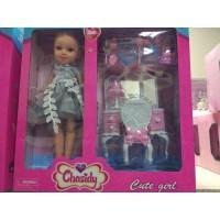 Кукла классич с мебелью, кор 78013А/78012