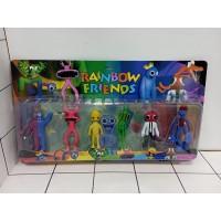 Игрушка фигурка резиновая, набор 8912,24шт Прилипалы