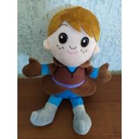 Игрушка мягкая герой (кукла, снеговик,олень, принц)ХС