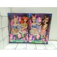Кукла в стиле Животного, набор 2шт  8168(Энхенчималс)
