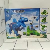 Конструктор динозавр, кор., муз. 050-2 DINOSAUR