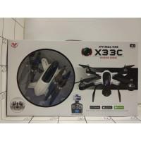 Игрушка летающая на РУ с аккумул, кор (Квадрокоптер с камерой) АКБ, USB, камера, 2в1 X33C