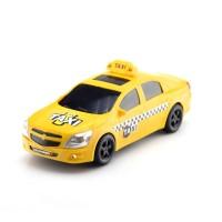 Машина пластмассовая Такси седан, 30см. черные окна КМР 052b