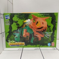 Конструктор динозавр муз, кор 042-1 DINOSAUR