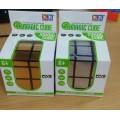 Логическая головолом, кор.,8813 (кубик Рубика 3*3зол/сер смещ.центр ),